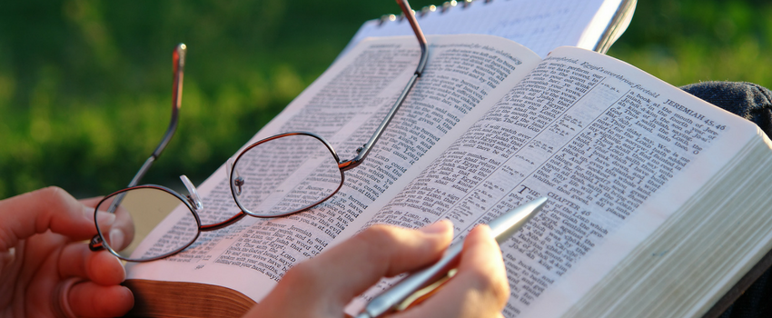 Learn how to plan to study the Bible