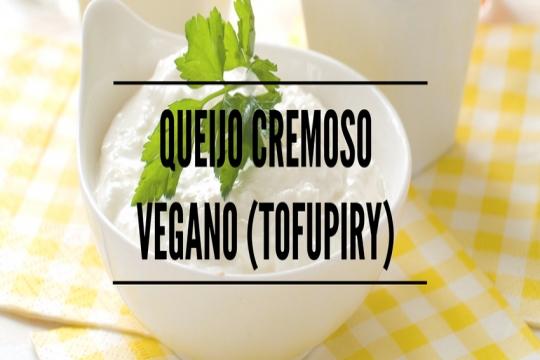 Queijo cremoso Vegano (Tofupiry)