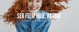 Ser feliz hoje, agora!
